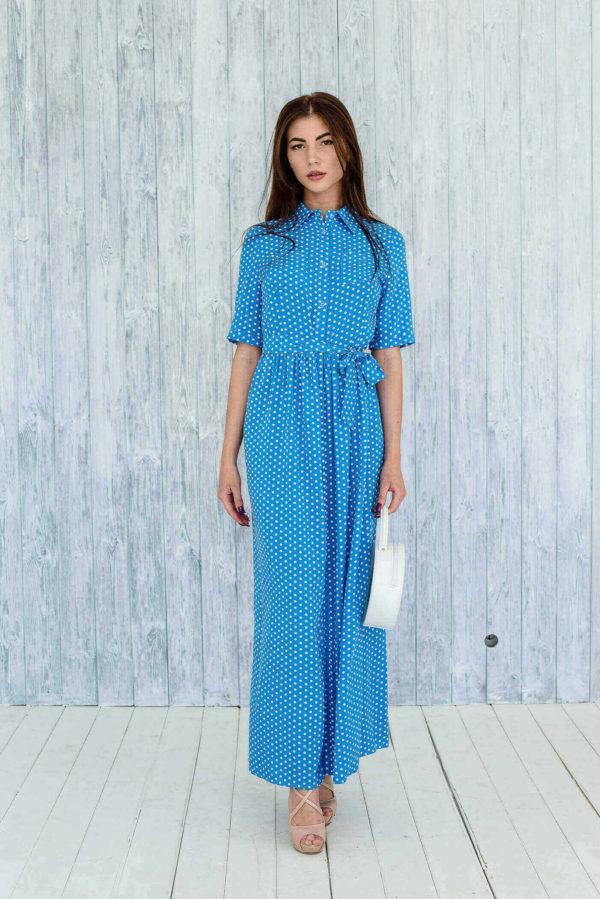 синее платье купить